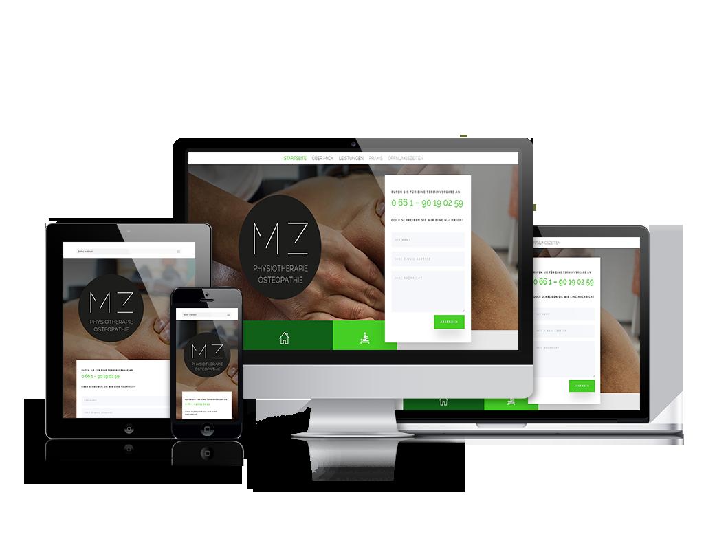 SF-webService-Webdesign-MZ Physio